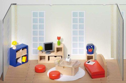 Goki Puppenhaus-Wohnzimmer