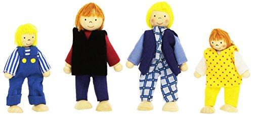 Goki Puppenhaus-Familie