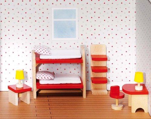 Goki Puppenhaus-Kinderzimmer